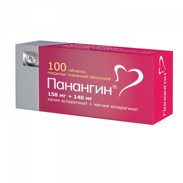 Панангин таб.п.п.о.№100 308306