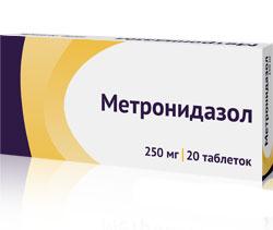 Метронидазол таб.500мг №20 115641